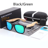 Bamboo Polarized Sunglasses Wooden Sun glasses Brand Original Wood - shopADON