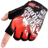 JAYSON Half Finger Cycling Fitness Glove For Unisex Horizontal Bar Gym - shopADON
