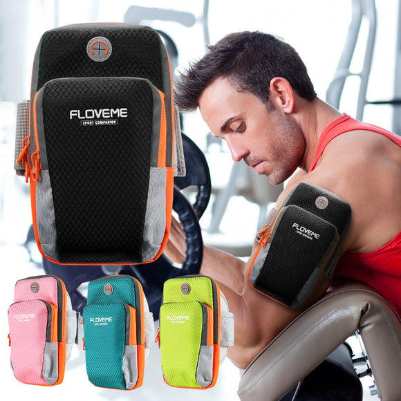 Arm Band Sport Phone Bag Case For iPhone X 8 7 6 Plus Samsung S9 S8 Plus - shopADON