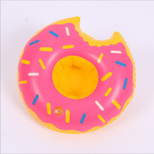 Mini Donuts Inflatable Coasters Drink Cell Phone Holder Stand Pool Event & Party Decoration Toy For Kids - shopADON