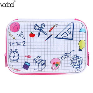 11 Type EVA Large Capacity Canvas Pencil Case Pencil Bag - shopADON