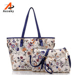 Versatile 3 Sets  Women Fashion Ladies Shoulder Bags Crossbody Bag Tote