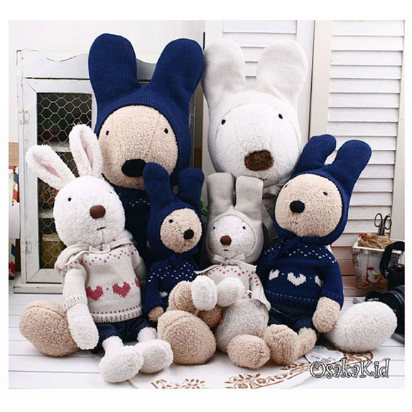 Kawaii  Le sucre rabbit plush toy bunny rabbit plush dolls, - shopADON