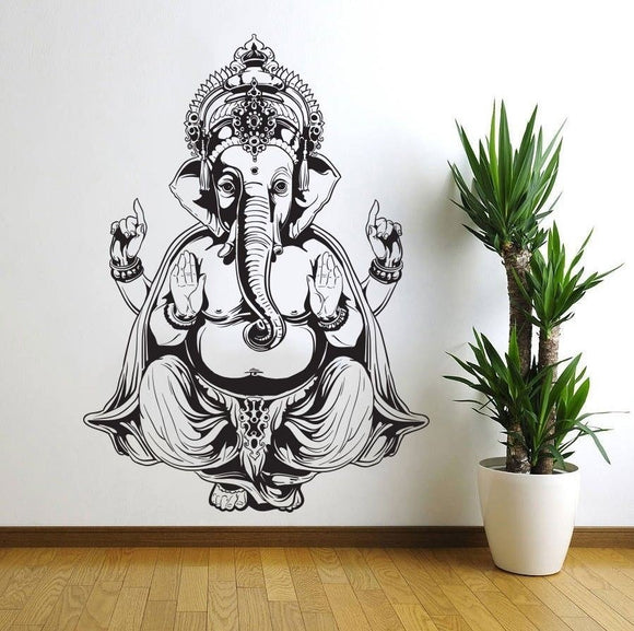 Religious Pattern Wall Sticker PVC Wall Art Stickers Modern Fashion Wallsticker Home Decoration Accessories for Living Room - shopADON