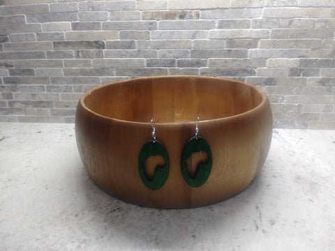 Africa Circle Earrings
