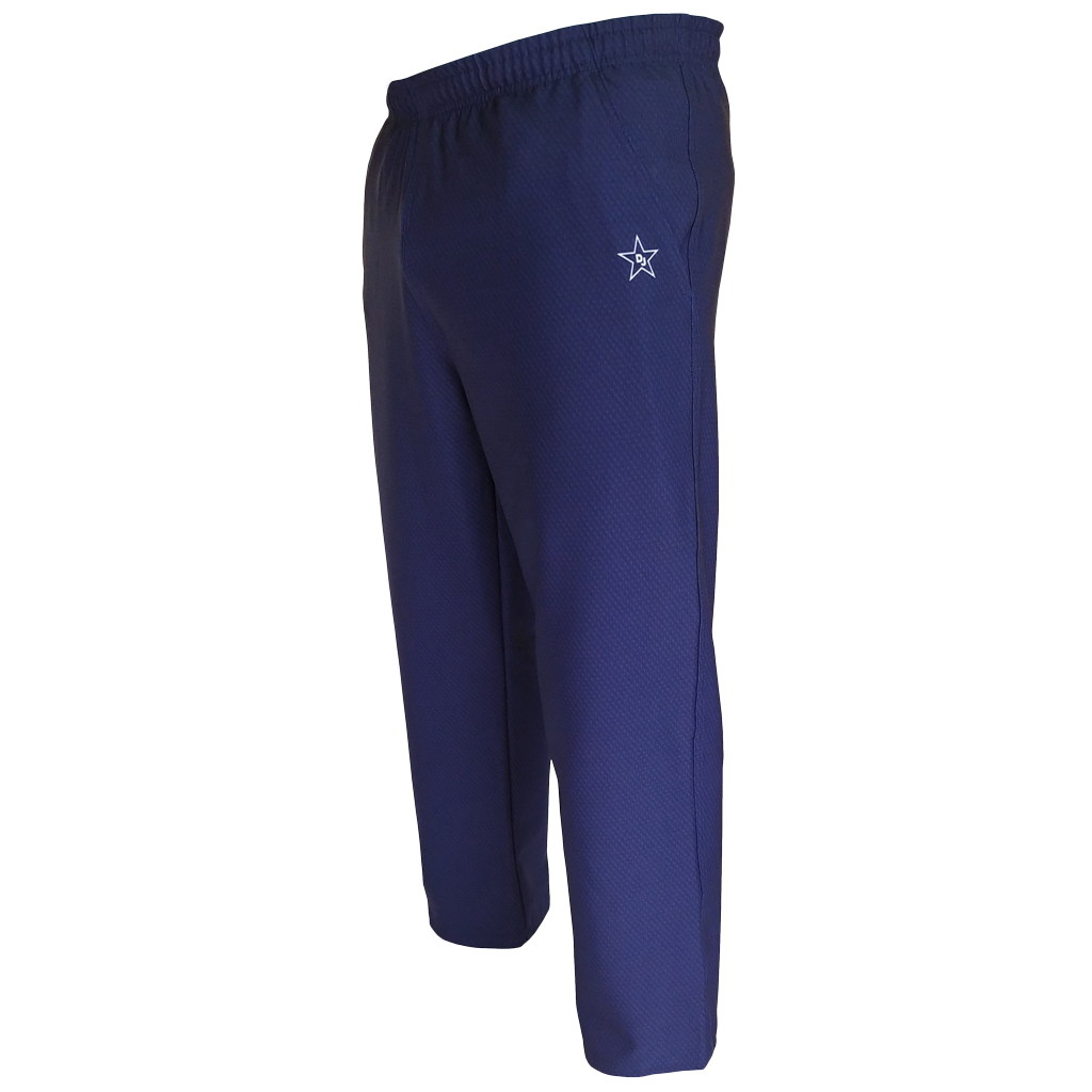 Boys Husky 4Way Stretch 3D Navy Athletic Pants - Made in the USA