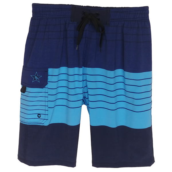 Beachcomber Blue Husky Board Shorts