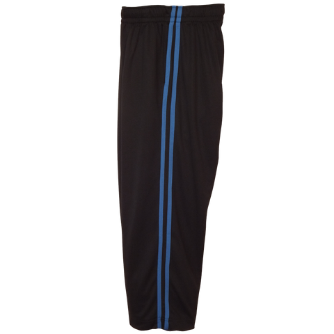 Black-Royal Boys Husky Athletic Pants