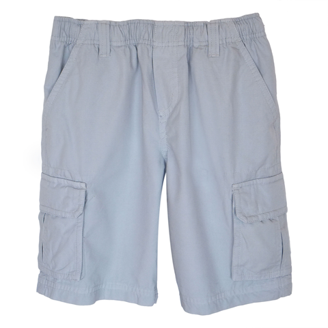 Cool Gray Cargo Shorts