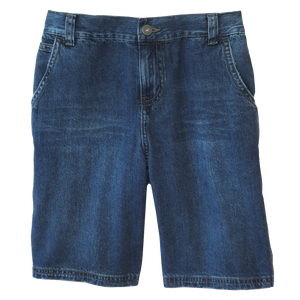 Distressed Denim Carpenter Shorts 1/2 Elastic