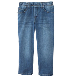 Medium Stonewashed Jeans Full Elastic