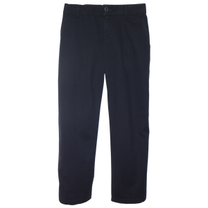 Midnight Navy Twill Pants 1/2 Elastic