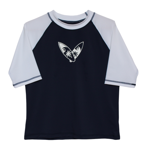 Navy Surf Husky Rash Guard