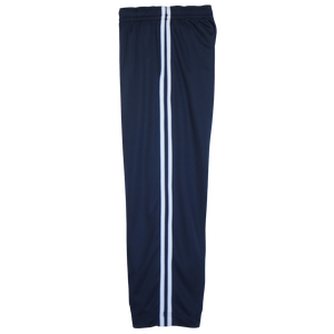 Navy-White Boys Husky Athletic Pants