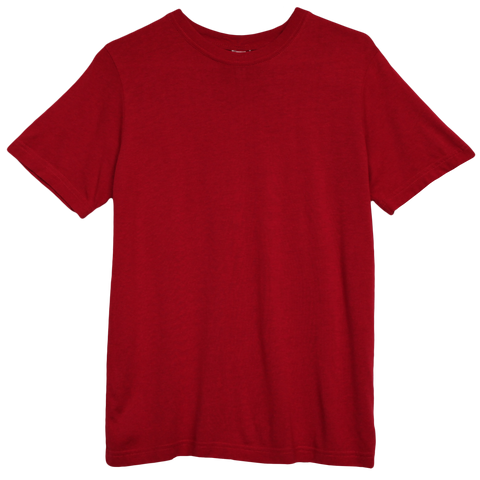 Softest Husky Tee-Red