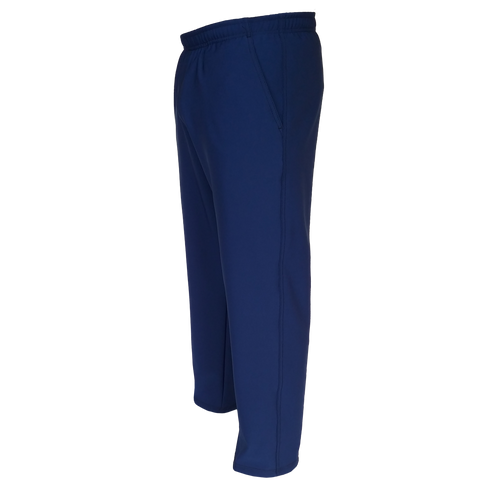 Boys Husky Solid Navy 4Way Stretch Athletic Pants - Made in the USA