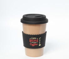 The Original Eco Travel Mug made of Rice Husk - 380ml / Life Begins
