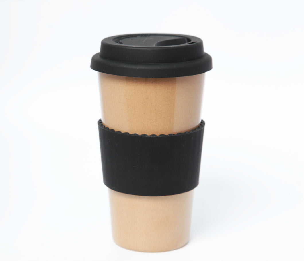 The Original Eco Travel Mug made of Rice Husk - 450ml / Espresso