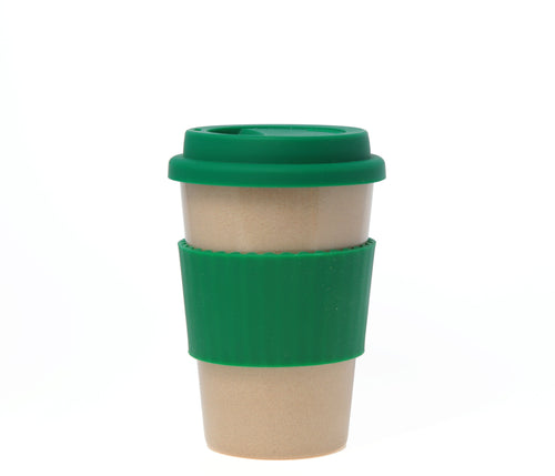 Travel Mug - The Original Eco Travel Mug Made Of Rice Husk - 380ml / Green Tea