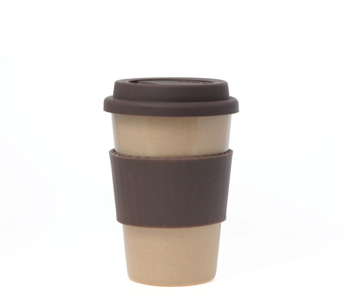 Travel Mug - The Original Eco Travel Mug Made Of Rice Husk - 380ml / White Americano