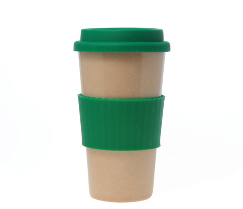 Travel Mug - The Original Eco Travel Mug Made Of Rice Husk - 450ml / Green Tea