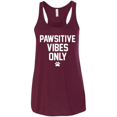 Pawsitive Vibes Only Flowy Tank