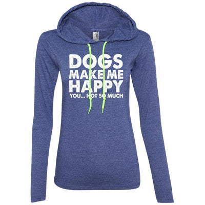 DOGS MAKE ME HAPPY T-Shirt Hoodie