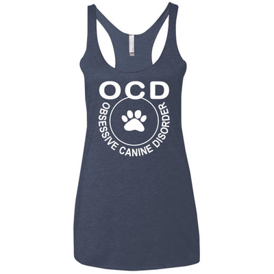 Obsessive Canine Disorder Triblend Tank