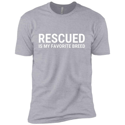 Rescued Is My Favorite Breed Premium Tee