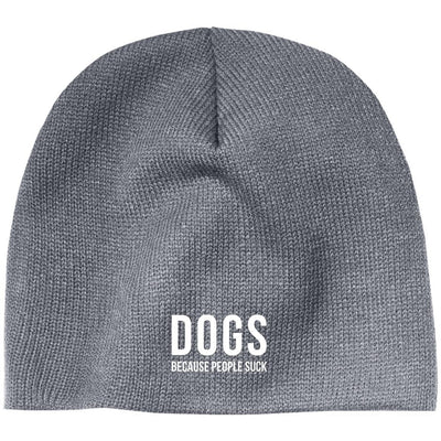 Dogs Because People Suck Classic Beanie