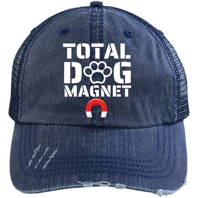 Total Dog Magnet Unstructured Trucker Cap