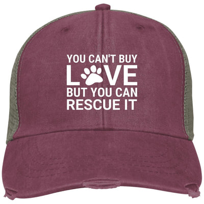 You Can't Buy Love But You Can Rescue It Hat Trucker Cap