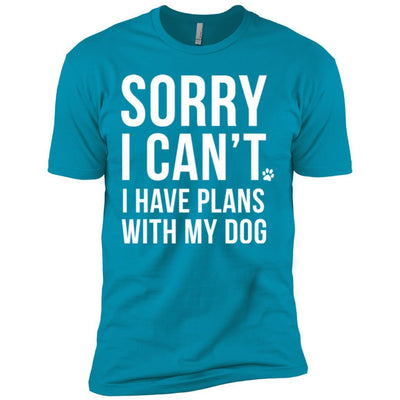 Sorry I Can't, I Have Plans With My Dog Premium Tee