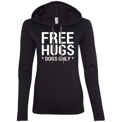 Free Hugs Dogs Only T-Shirt Hoodie