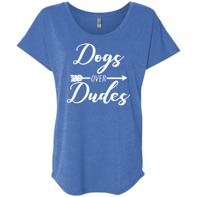 Dogs Over Dudes Slouchy Tee