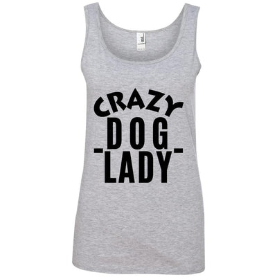 Crazy Dog Lady Cotton Tank
