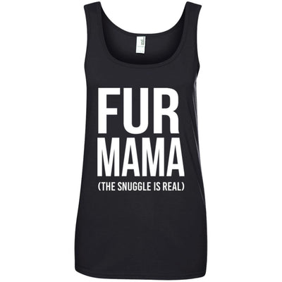 Fur Mama The Snuggle Is Real Cotton Tank