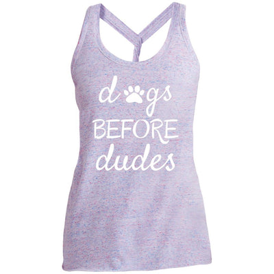 Dogs Before Dudes Twist Back Tank