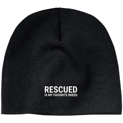 Rescued Is My Favorite Breed Classic Beanie