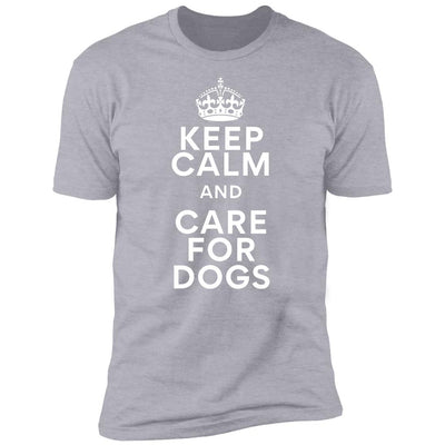 Keep Calm And Care For Dogs Premium Tee