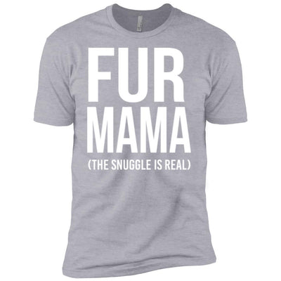 Fur Mama The Snuggle Is Real Premium Tee