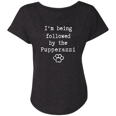 I'm being followed by the Pupperazzi Slouchy Tee