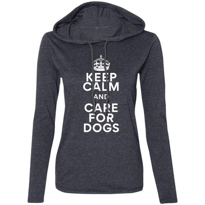 Keep Calm And Care For Dogs T-Shirt Hoodie