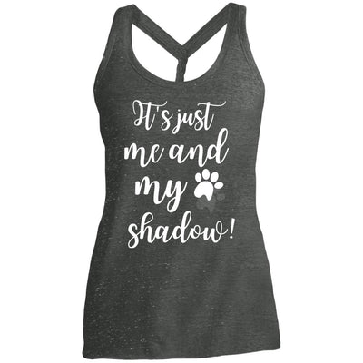It's Just Me and My Shadow Twist Back Tank