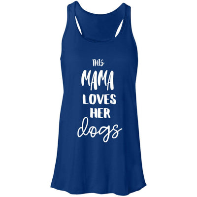 This Mama Loves Her Dog Flowy Tank
