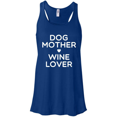 DOG MOTHER WINE LOVER Flowy Tank