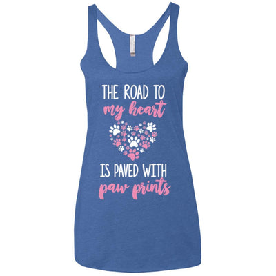 The Road To My Heart Triblend Tank