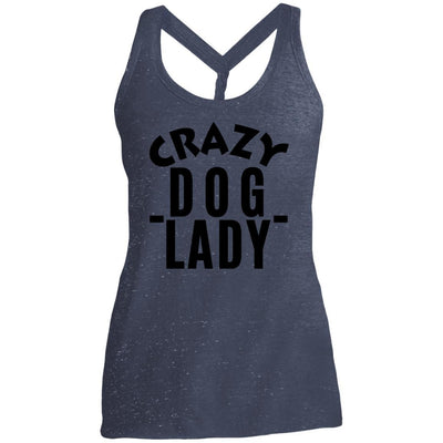 Crazy Dog Lady Twist Back Tank