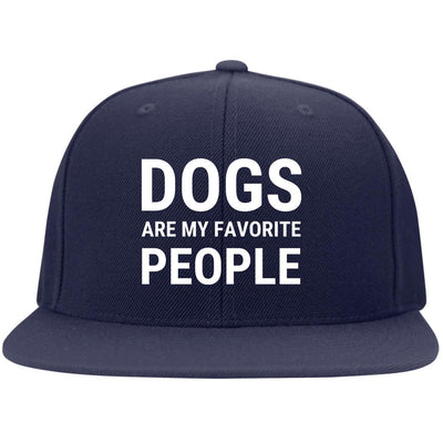 Dogs Are My Favorite People Hat Snapback Hat