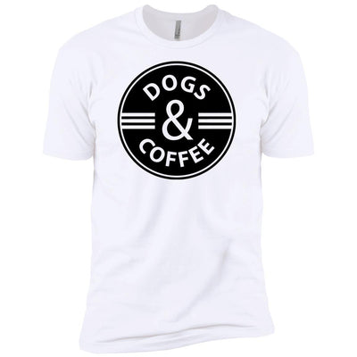 Dogs & Coffee Premium Tee
